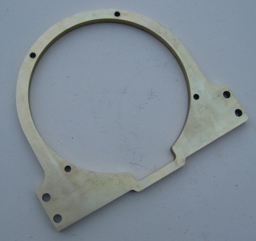ENGINE STAND FACEPLATE, AIRHEAD TWINS 1970-1995