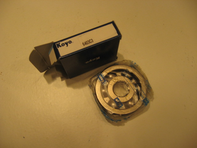 /6 & LATER OUTPUT SHAFT BEARING, REAR