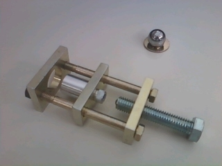 WRIST PIN BUSHING PRESS and BRASS LAP