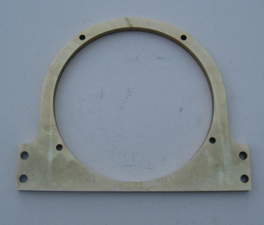 ENGINE STAND FACEPLATE, BMW TWINS 1951-1969